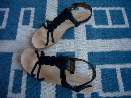 cynthia vincent rope sandals
